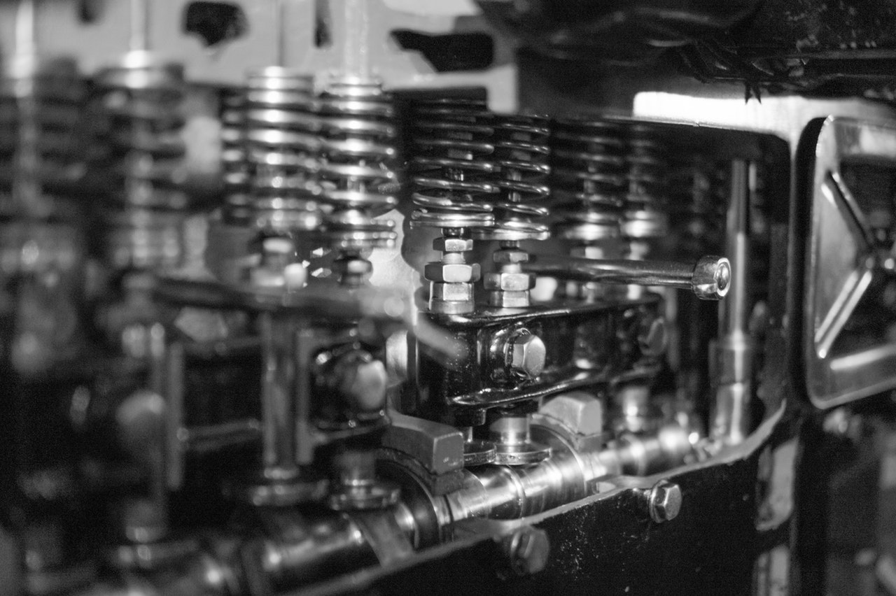 black-and-white-bolts-engine-38920